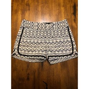 The limited tailored shorts tribal print